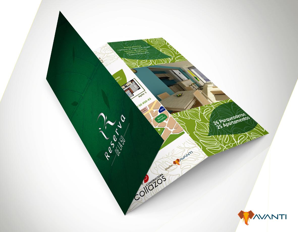 Brochure proyecto de construcción